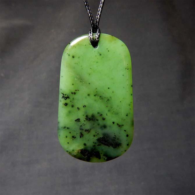 Jade drop pendant